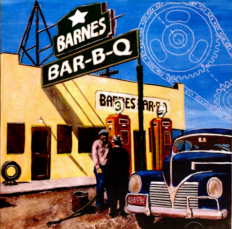 barnes bar b q album